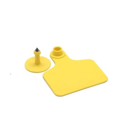 ear tag for cattle yellow